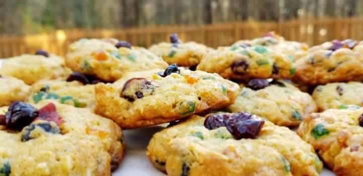 Cranberry Walnut And Tutti Frutti Cookies Myspicetrunk